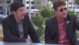 Comic-Con Classic: Jason Biggs and Sean Astin Talk TMNT