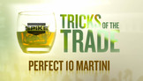 Tricks of the Trade - Perfect 10 Martini