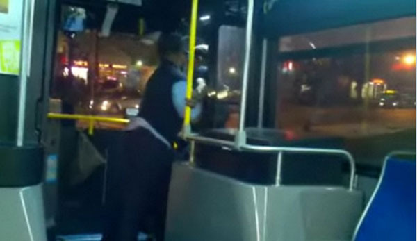 Driver Throws Annoying Passenger Off the Bus. Literally.