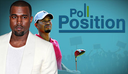 Poll Position Episode 1: Tiger Woods, Kanye and Lon