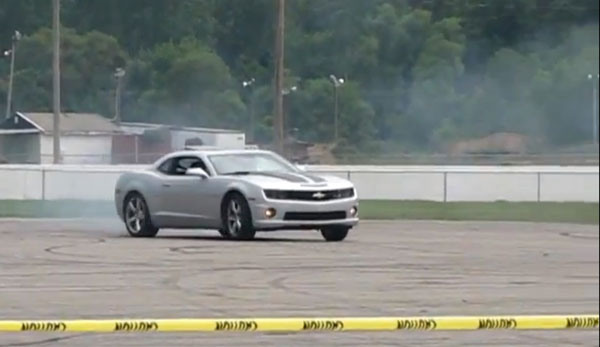 This Is Why You Don't Do Donuts In A Camaro