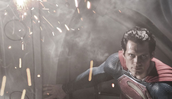 First Look at Henry Cavill as Superman in Man of Steel Small