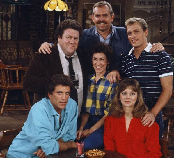 "The Gang at ""Cheers"""