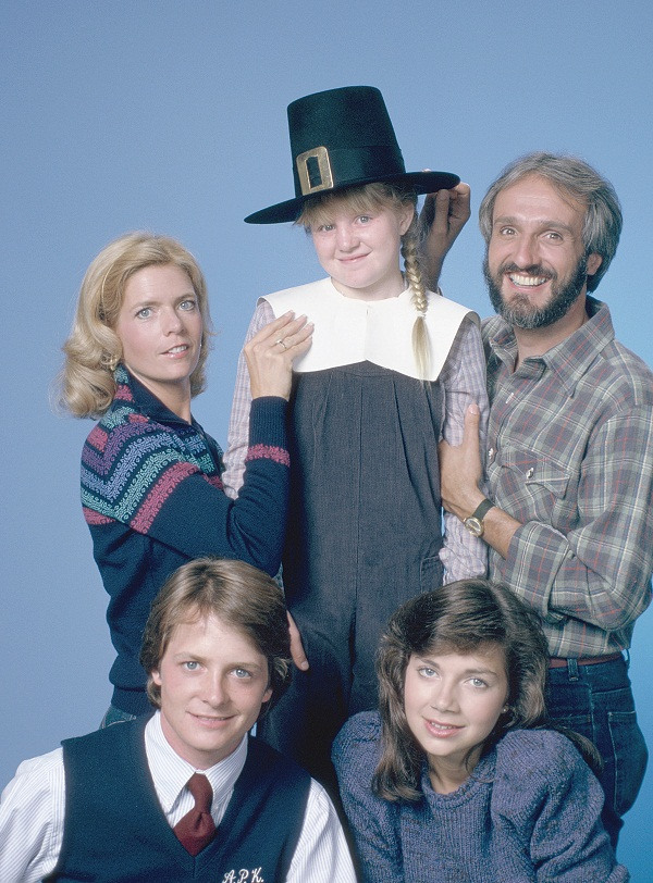 "The Keatons from ""Family Ties"""
