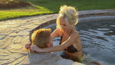 Randy & Wanda In The Hot Tub