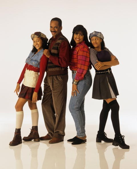 "The Landry/Campbells from ""Sister, Sister"""