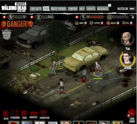 The Walking Dead Game App