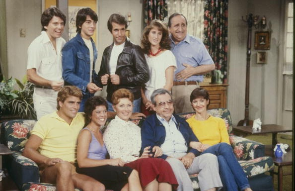 "The Cunninghams from ""Happy Days"""