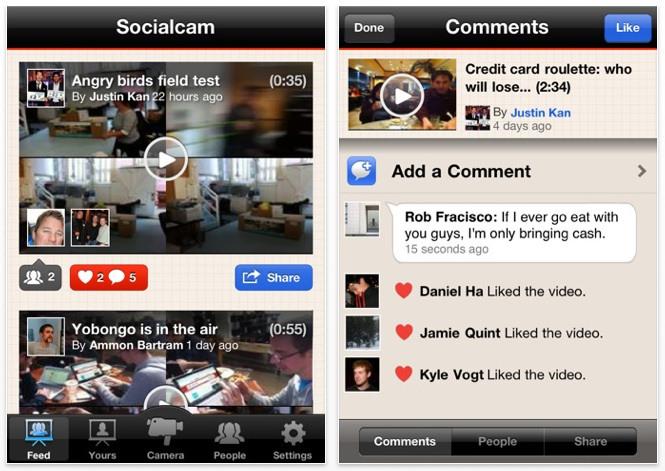 Socialcam AAW