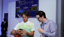 Steve Nash And Walt Frazier Help Launch The Galaxy S® III