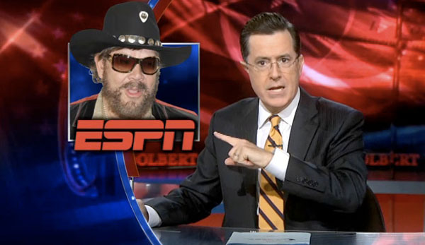 Stephen Colbert Wants to Replace Hank Williams Jr. on Monday Night Football