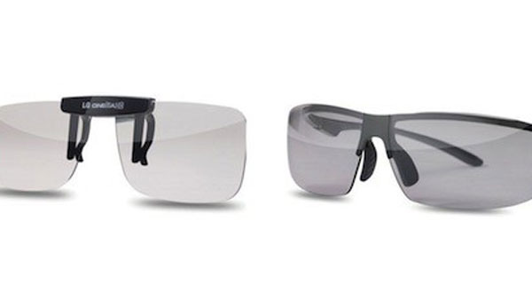 LG's 3D Glasses Aim to Be Less Heavier, Uglier