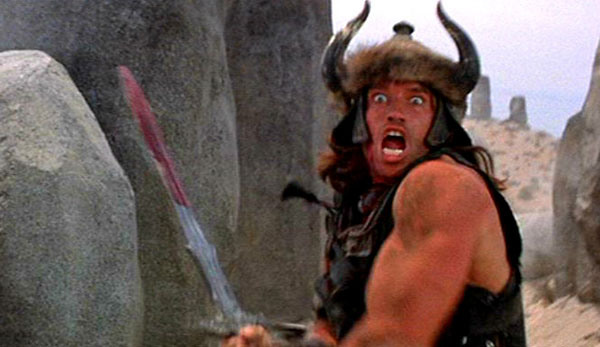 Conan vs. Camel - Conan the Barbarian - Image