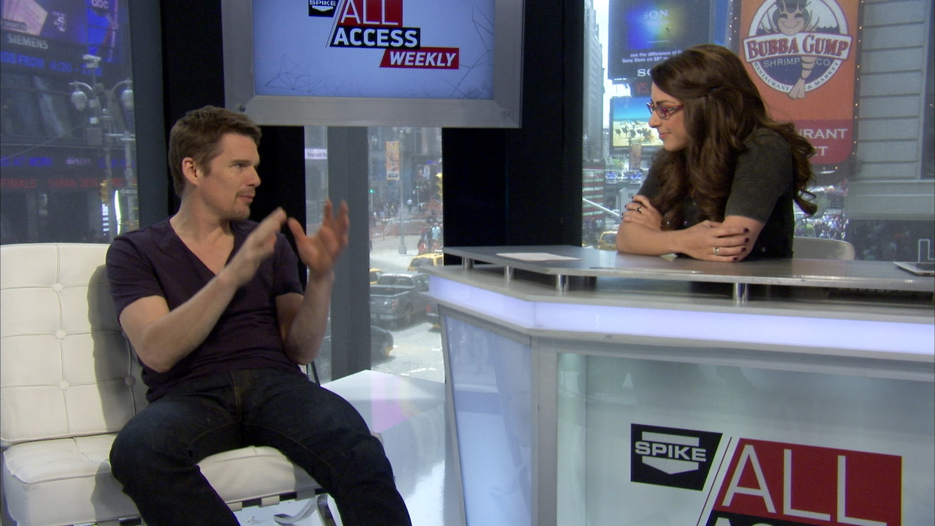 Ethan Hawke And Superman Unchained