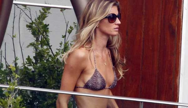 Gisele Bundchen Heats Things Up in Brazil