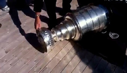 Stanley Cup Gets Dropped and Dented in Newfoundland