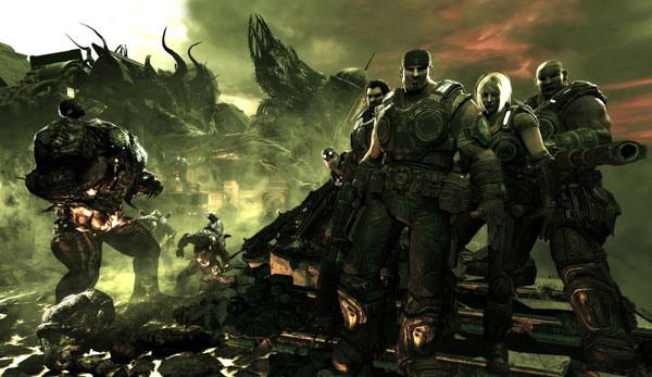 Gears of War 3 Top Shelf
