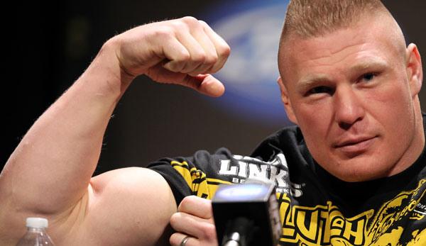 Brock Lesnar UFC 141