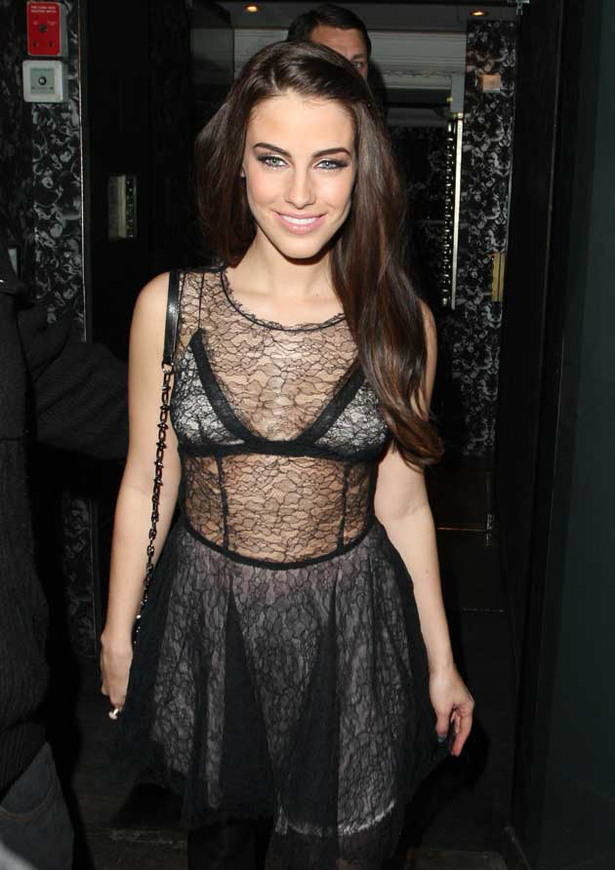 Jessica Lowndes' Revealing Night Out