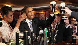 Mantenna – Obama Grabs a Beer in Ireland