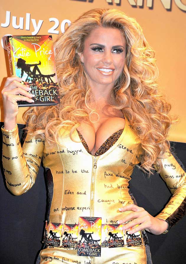 Katie Price Attempts to Bust World Record