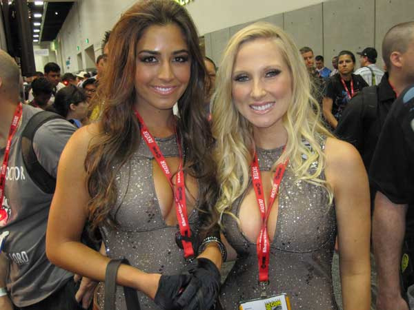 The Booth Babes of Comic-Con 2011