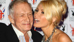 Hugh Hefner Hits Back at Mr. Two Seconds Label