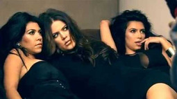 Kim, Khloé, and Kourtney Kardashian Pout in Sexy Photo Shoot