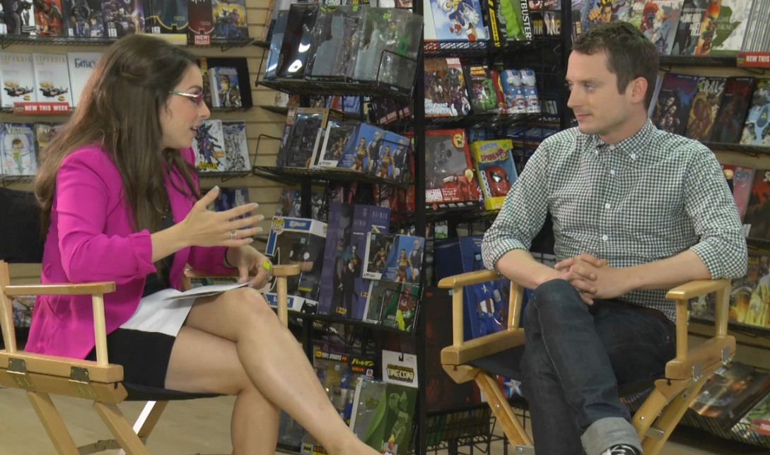 Elijah Wood and Comixology