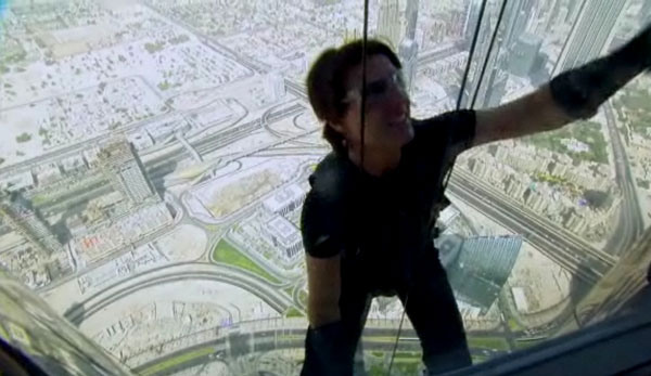 Insane New Look at the Making of Mission: Impossible - Ghost Protocol