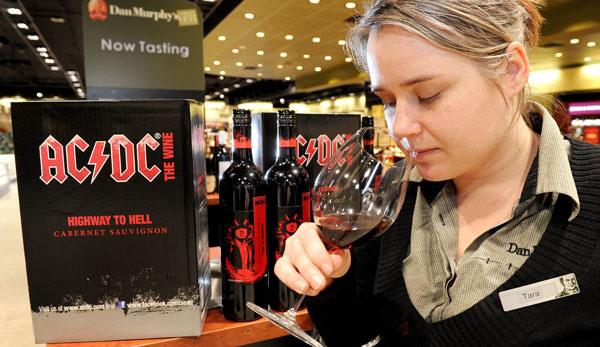 AC/DC Is Making Wine?