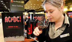 AC/DC Is Making Wine?