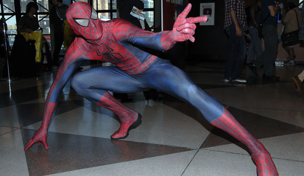 Spider-Man Cosplay - Comic-Con
