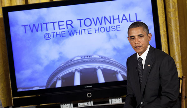 Barack Obama Twitter Mantenna