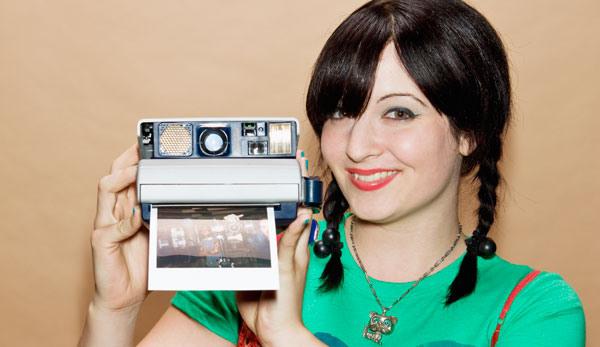 Polaroid Camera CES