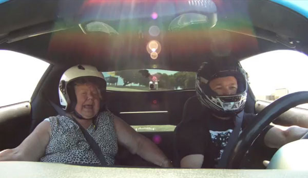 Corvette Racer Gives His Mom a Ride at 0-60 in 4.5 Seconds
