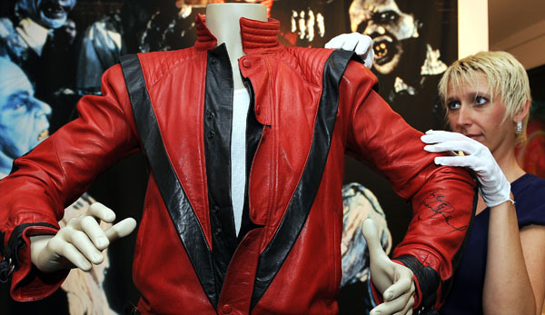 Michael Jackson's Thriller Jacket sells for $1.8m