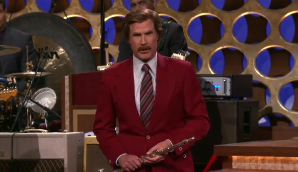 Ron Burgundy Is Officially Back For Anchorman 2!