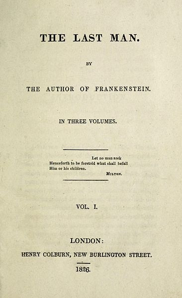 Mary Shelley's The Last Man