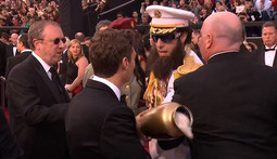 The Dictator Dumps the Ashes of Kim Jong-Il on Ryan Seacrest