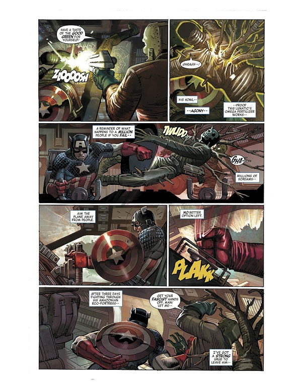 Marvel NOW! - Captain America #1 Exclusive Page 3