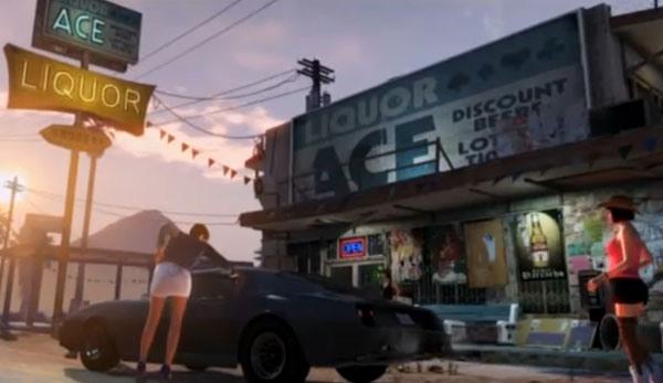 Grand Theft Auto V Debut Trailer