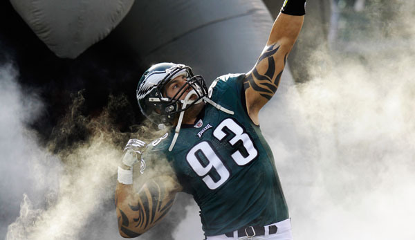 Philadelphia Eagles' Jason Babin