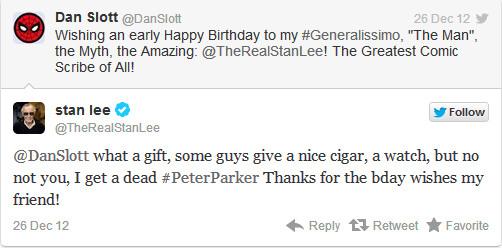 Dan Slott Twitter