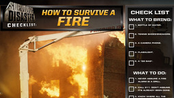 Disaster Checklist: How To Survive A Fire