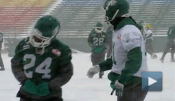 Canadian Football Looks Cold and Angry