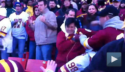 Redskins Crowd Unaware How Fan Violence is Supposed to Work