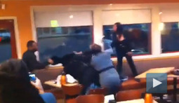 It's Tough to Call Someone a Winner in this Bench-Clearing IHOP Brawl