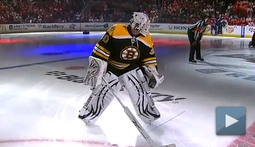 Impromptu Goalie Race Impresses All 13 Viewers of NHL Skills Competition