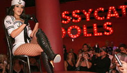 Kim Kardashian Shakes Her Booty as a Pussycat Doll